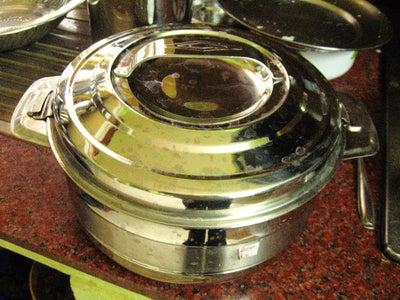 Remove Cooked Idlis