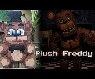 Plush Freddy From FNAF | Bead Sprites (Perler/Hama Beads)