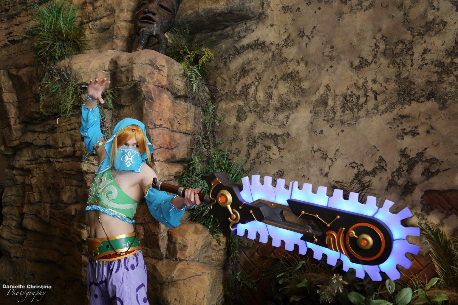 Ancient Bladesaw - 3d Printed - Legend of Zelda: BotW