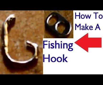 How To Make A Fishing Hook Out Of A  Pull-Tab