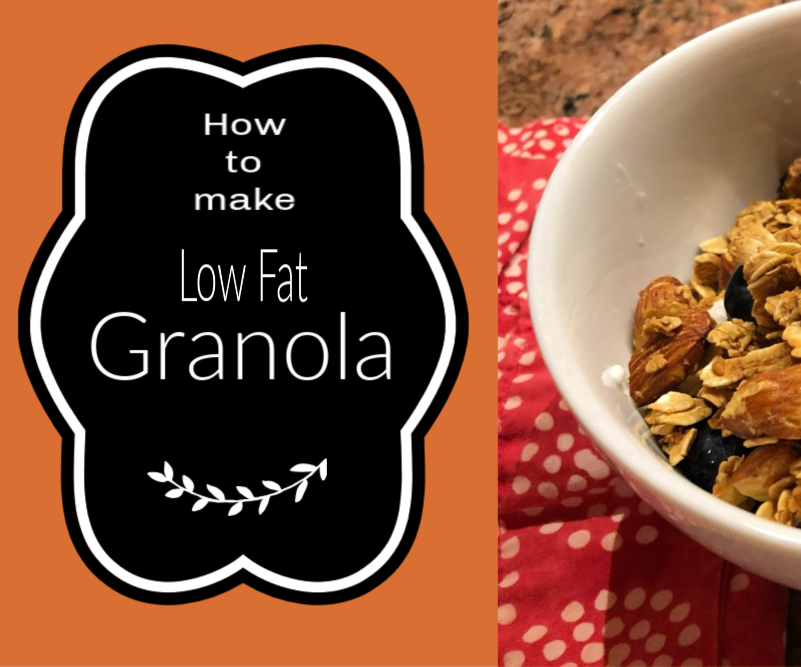 Low Fat Granola