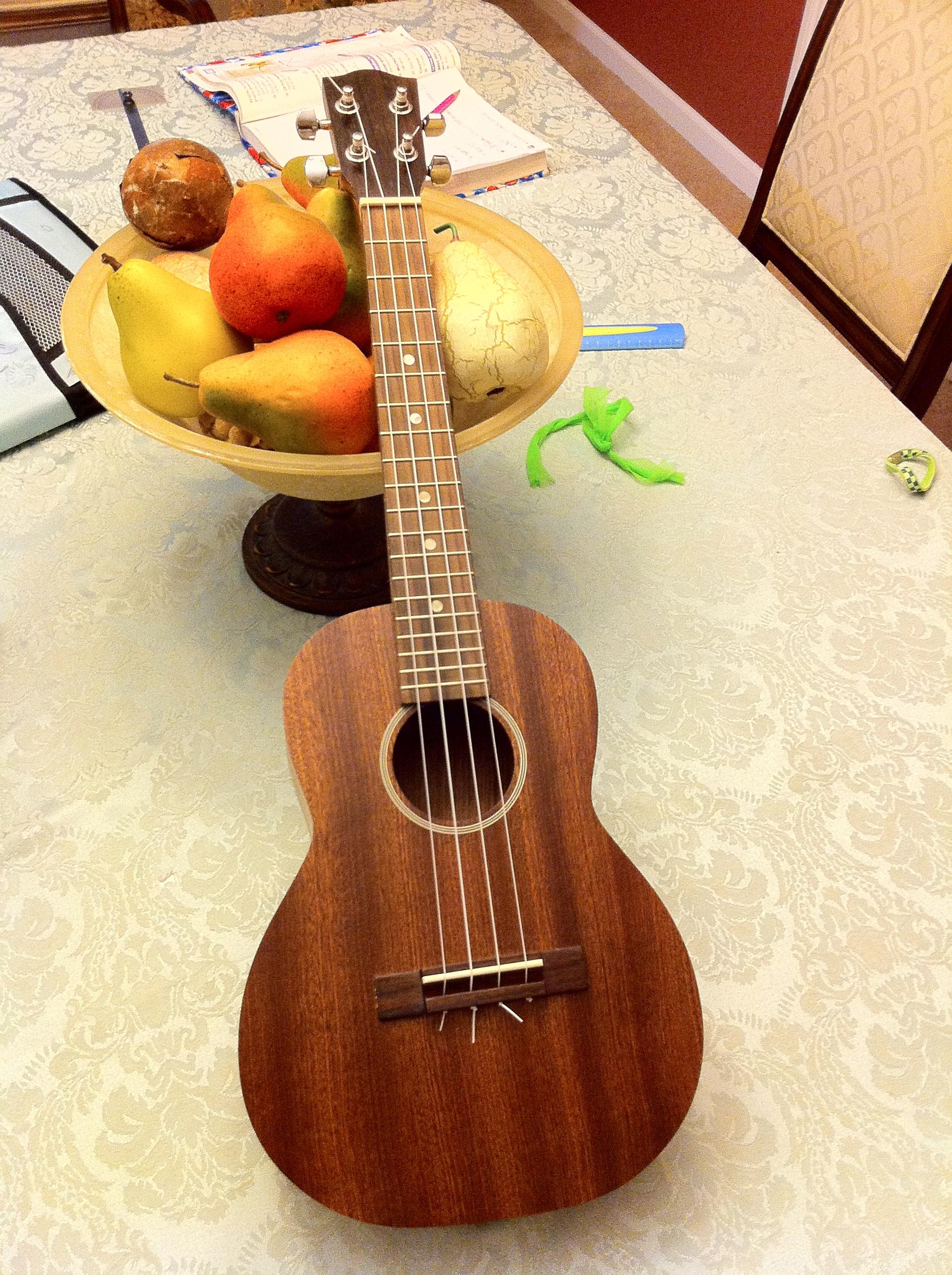 Building a tenor ukulele