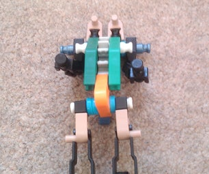 Knex Mini Transformer Submarine