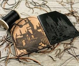 Harry Potter's Hogwarts Castle Leather Wallet
