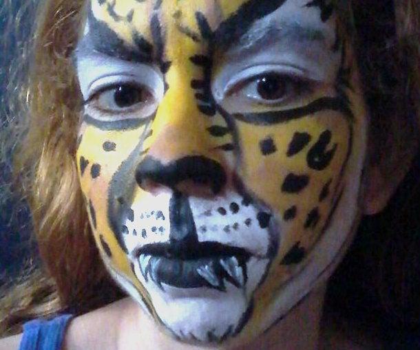 Cheetah Face Paint 6 Steps Instructables