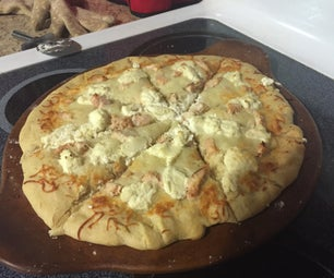 Garlic Chicken Pizza
