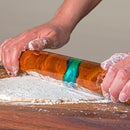 Cherry & Resin French Rolling Pin