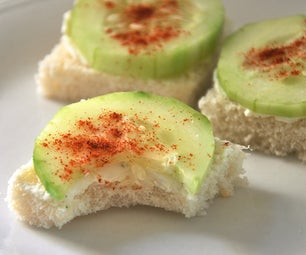 Cucumber Sandwiches - Eating Fancy Easily