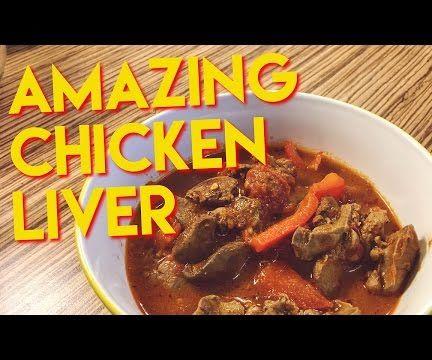 Tomato Chicken Liver