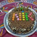 Handmade Chocolate Birthday Cake With Love
