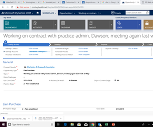 Create New Account in the CRM