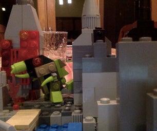 Lego Minizilla