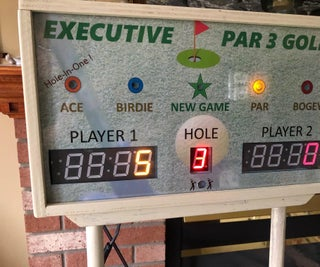 Automatic Scoring for the Executive Par 3 Golf Game