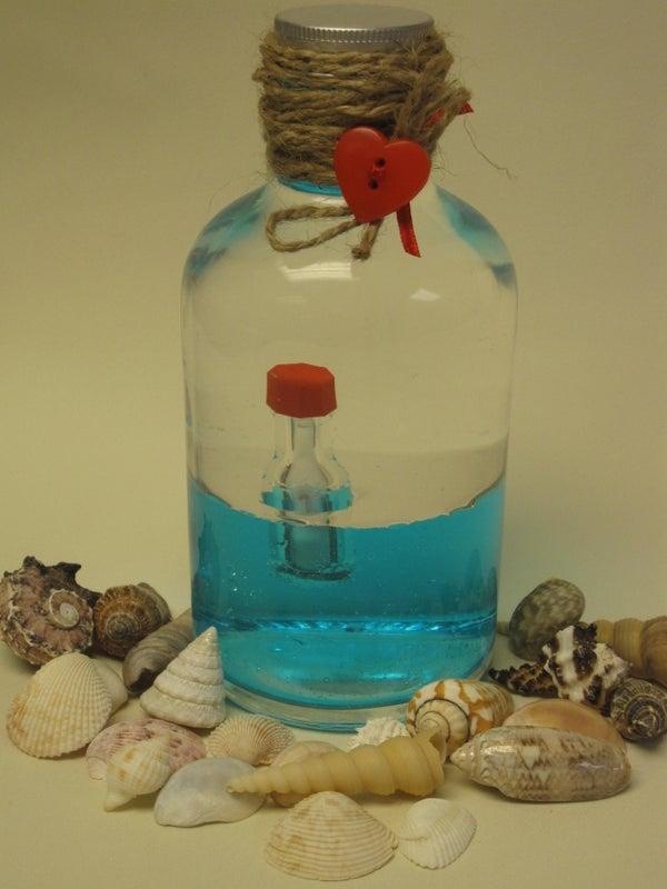 Desktop Message in a Bottle
