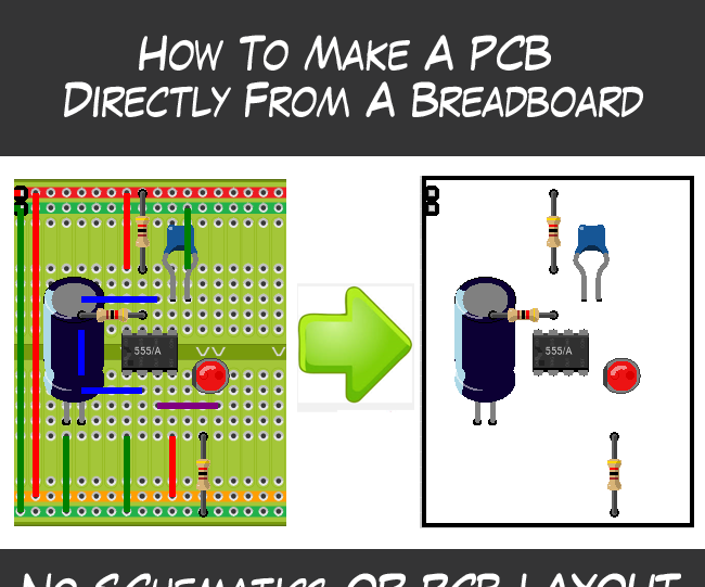 Create a PCB directly from a Breadboard