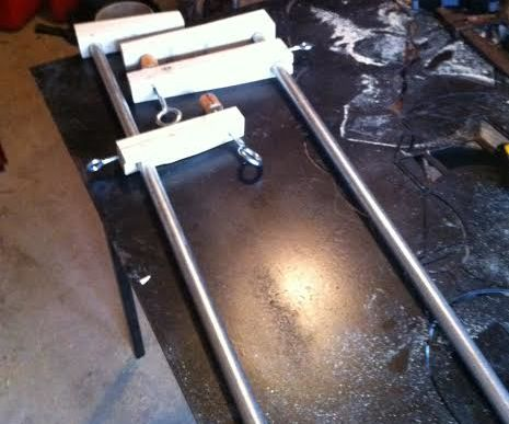 Pipe Clamps 4foot Under 12$