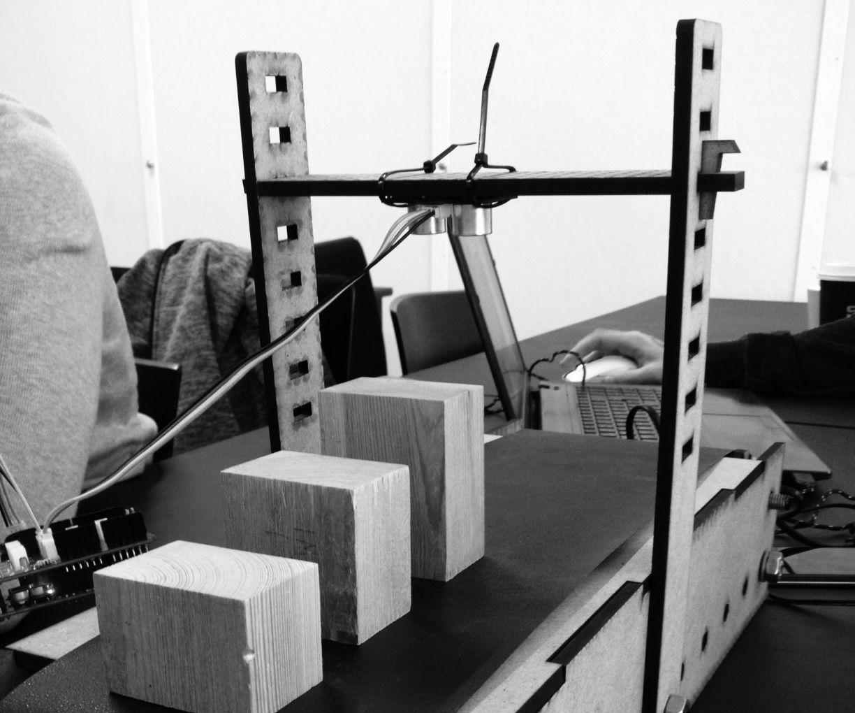 Production belt counter