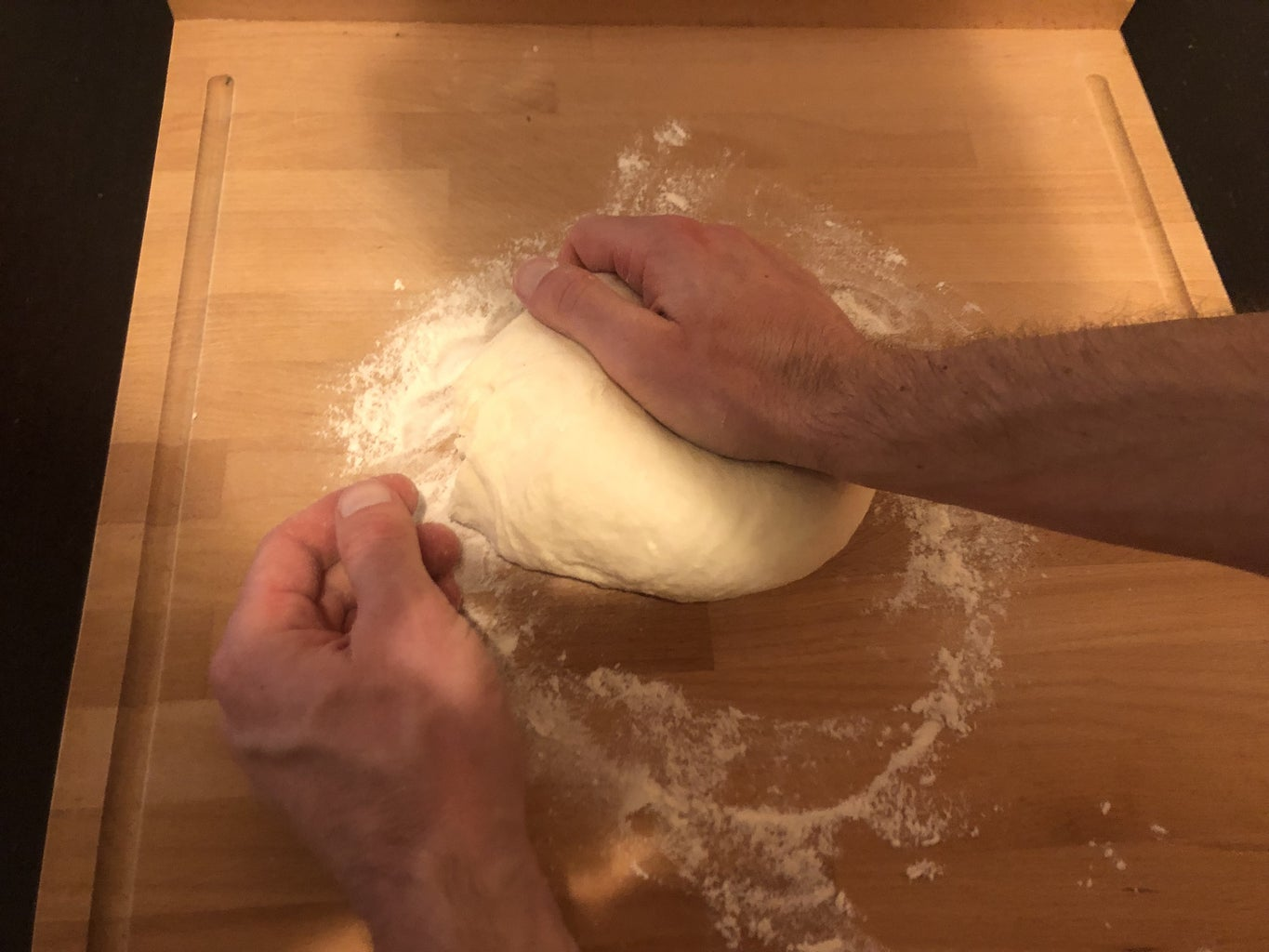Knead, Rest and Fold
