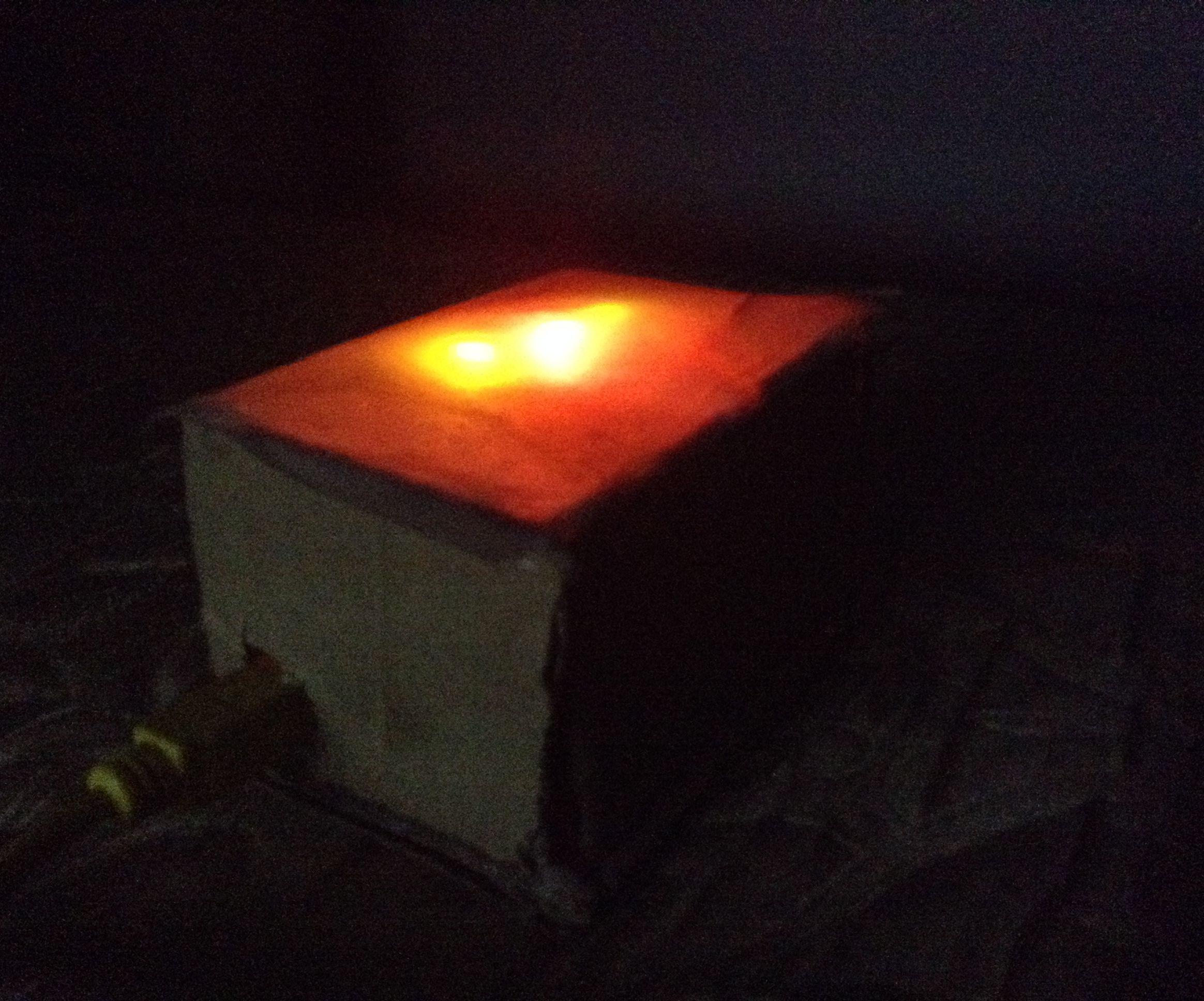 Arduino color mixing light