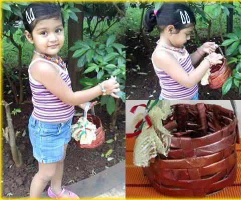 Craft a paper basket