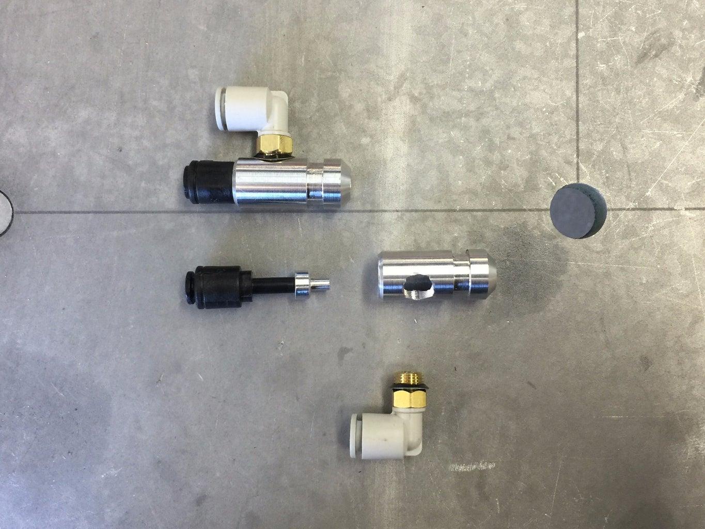 Build Parts for Mist Cooling System