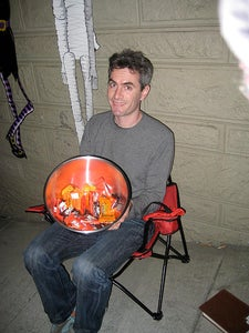 Sit Down, Relax, Hang Out and Hand Out That Candy