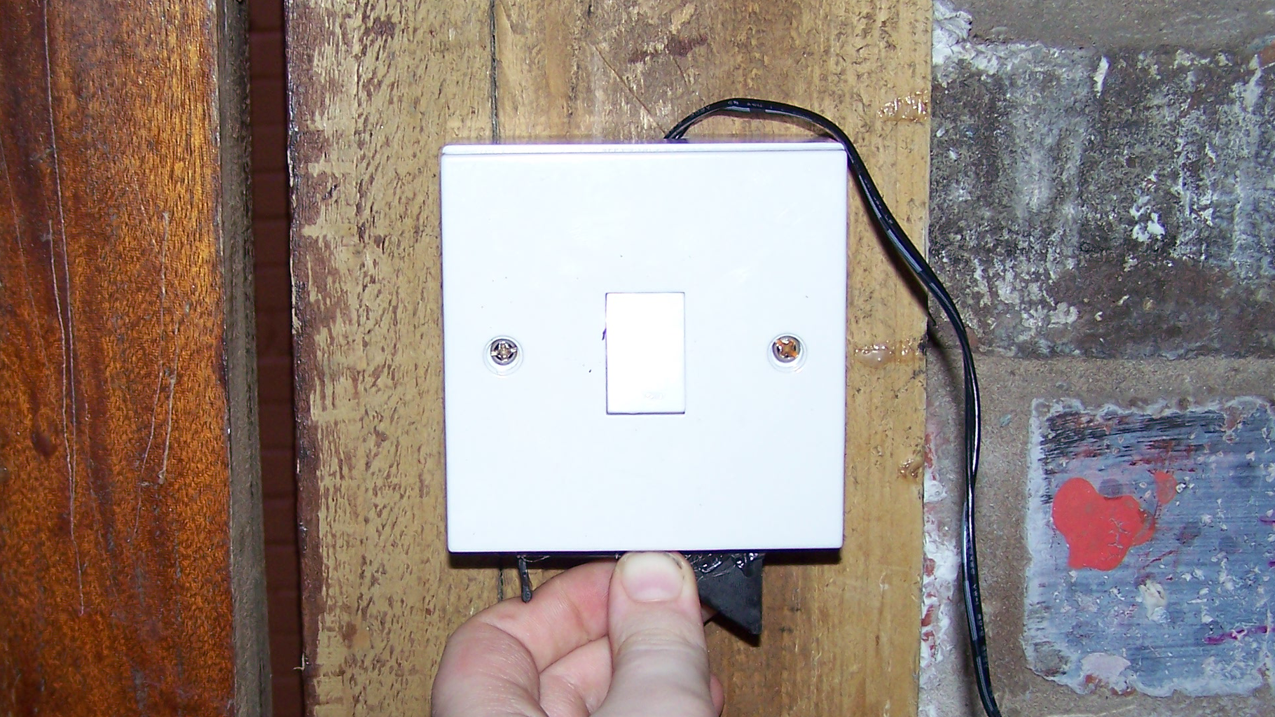 Installing the Light Switch