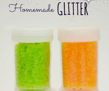 Make Your Own Glitter