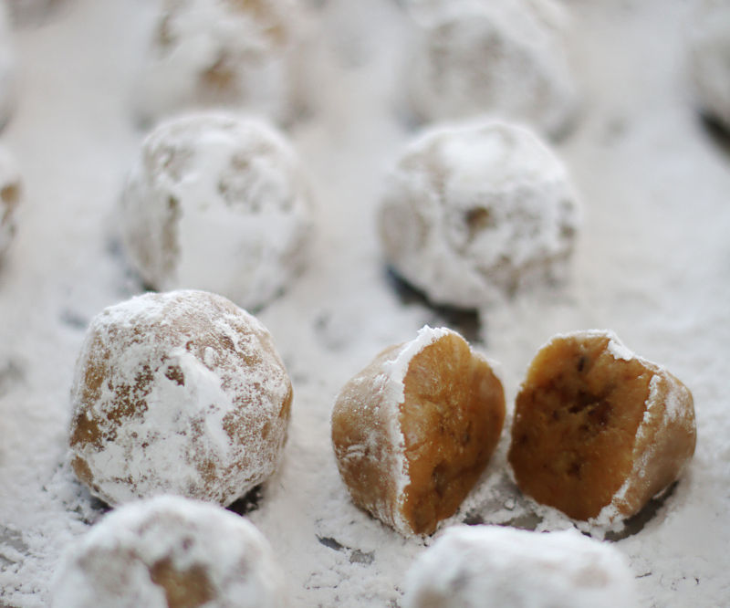 Bourbon Pecan Pie Candy Balls