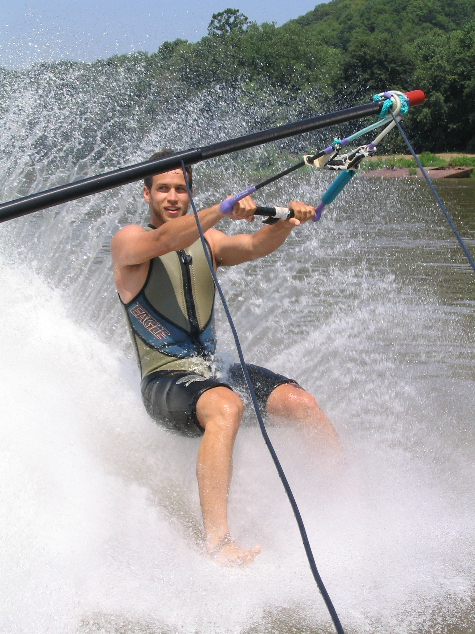 Learn How to Barefoot Waterski