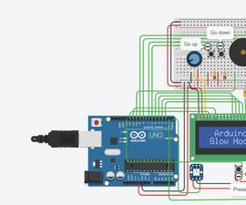 Arduino Glow Hockey Project