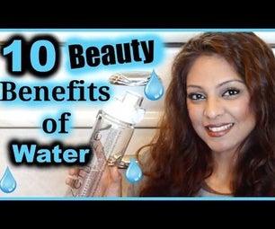 10 Beauty Benefits of  Water │ Skin, Hair, Mood, Energy, Eyes + More