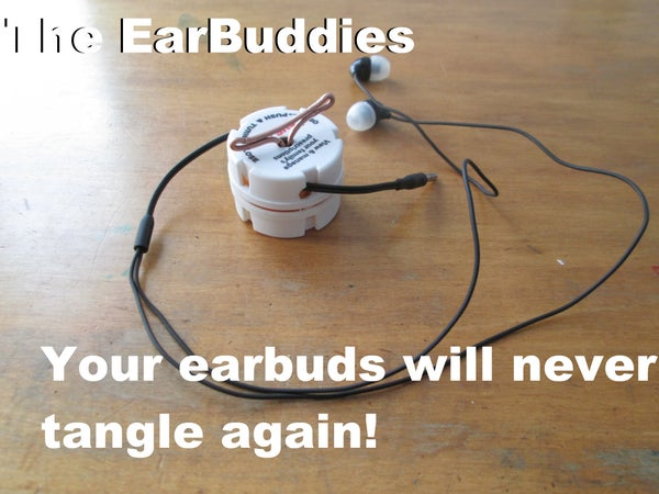 The EarBuddies: Store Earbuds Without Tangling (With Stuff You Already Have!)