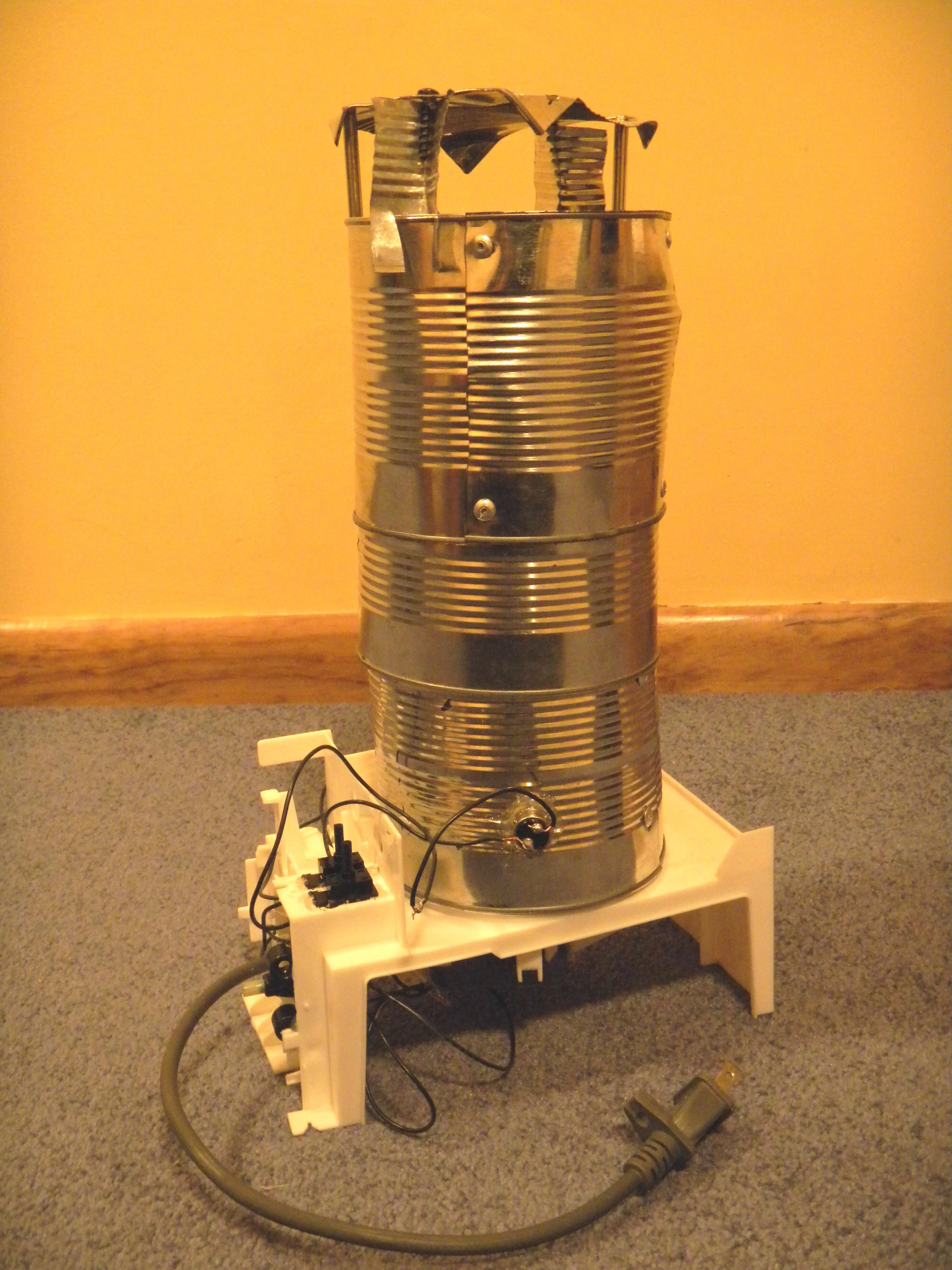 Recycled Parts Food Dehydrator