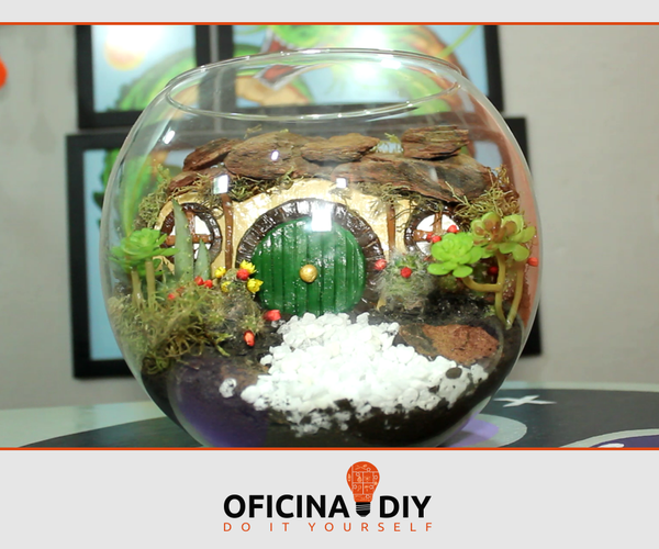 Terrarium House of Frodo Lord of the Rings