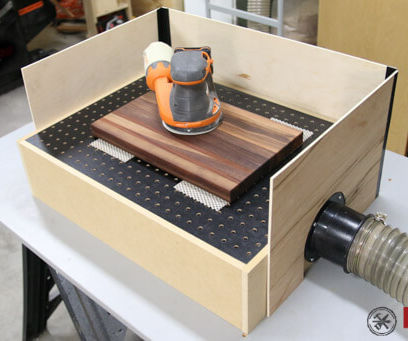DIY Downdraft Table