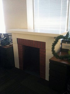 The Finished Fireplace