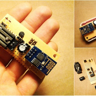 Low Cost WIFI Temperature (DS18B20) Data Logger Based on ESP8266 With Connectivity to Thingspeak.com