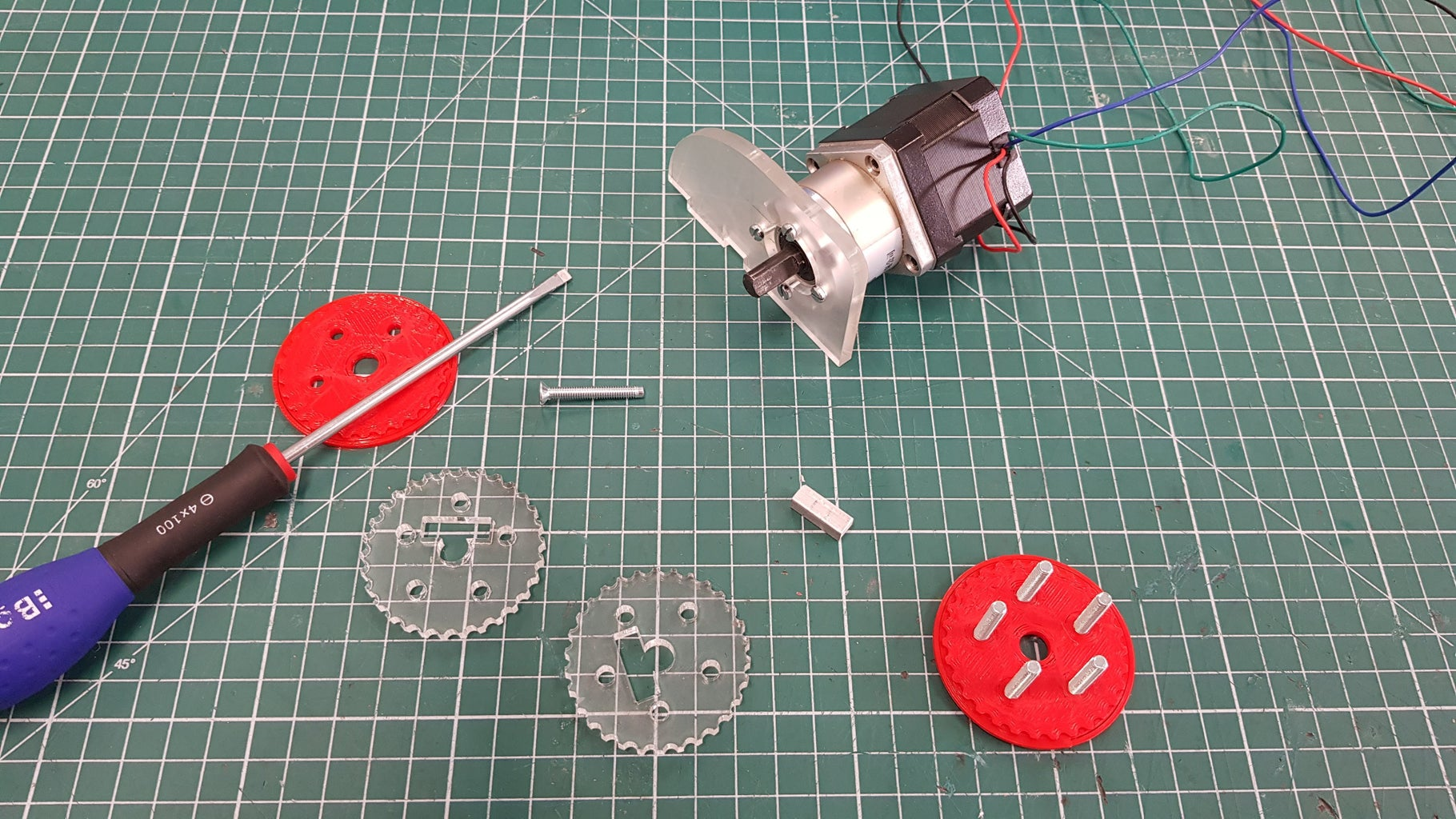 Assemble Motor Body - Part 1