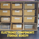 Make Your Own Electronic Components Storage Boxes!!!!