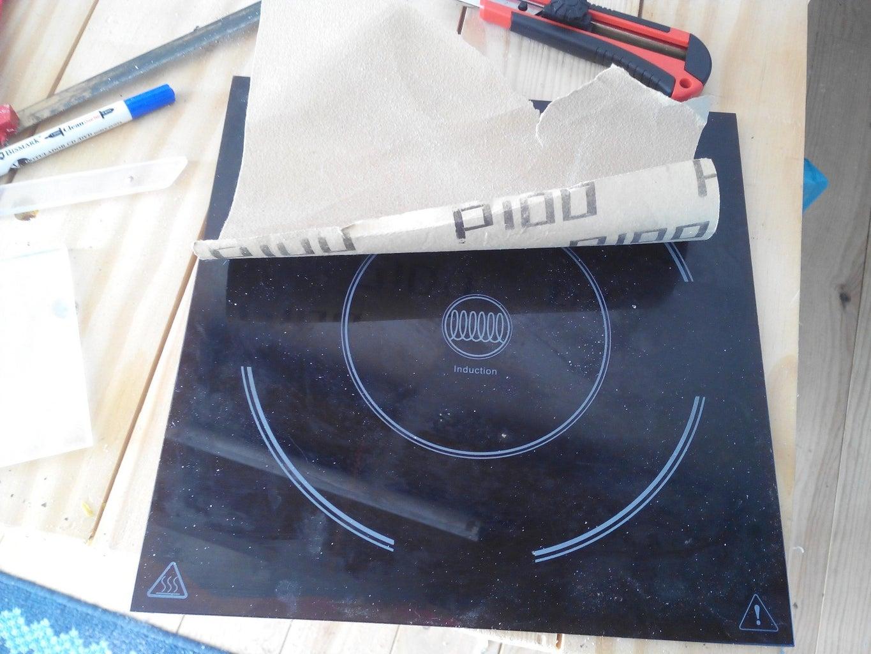 Cut the Acrylic and Sand