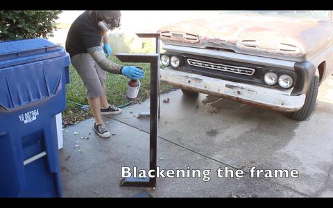 Blackening the Frame
