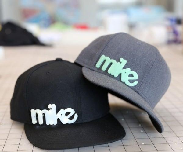 3D Printed Hat Graphics