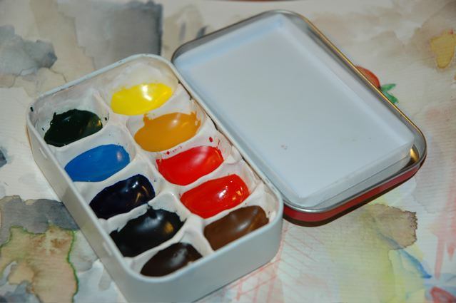Altoids Tin Pocket-Sized Watercolor Box