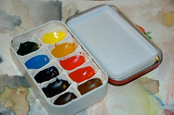 Altoids Tin Pocket-Sized Watercolor Box