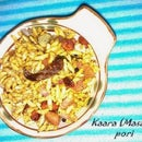Spicy puffed rice - a gluten free healthy snack