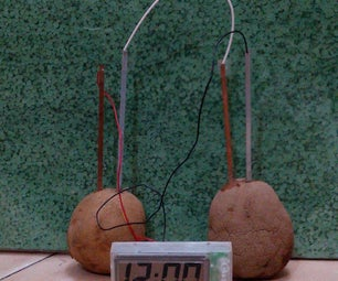 DIY Potato Clock