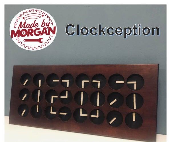 跨界 - 如何构建由时钟制成的时钟!