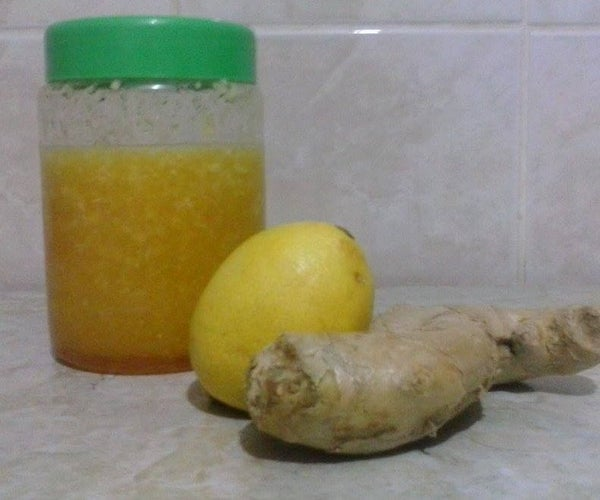 Ginger, Honey and Lemon - Natural Remedies