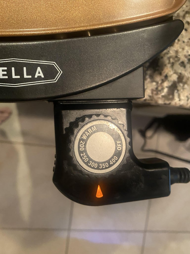 Preheat the Griddle